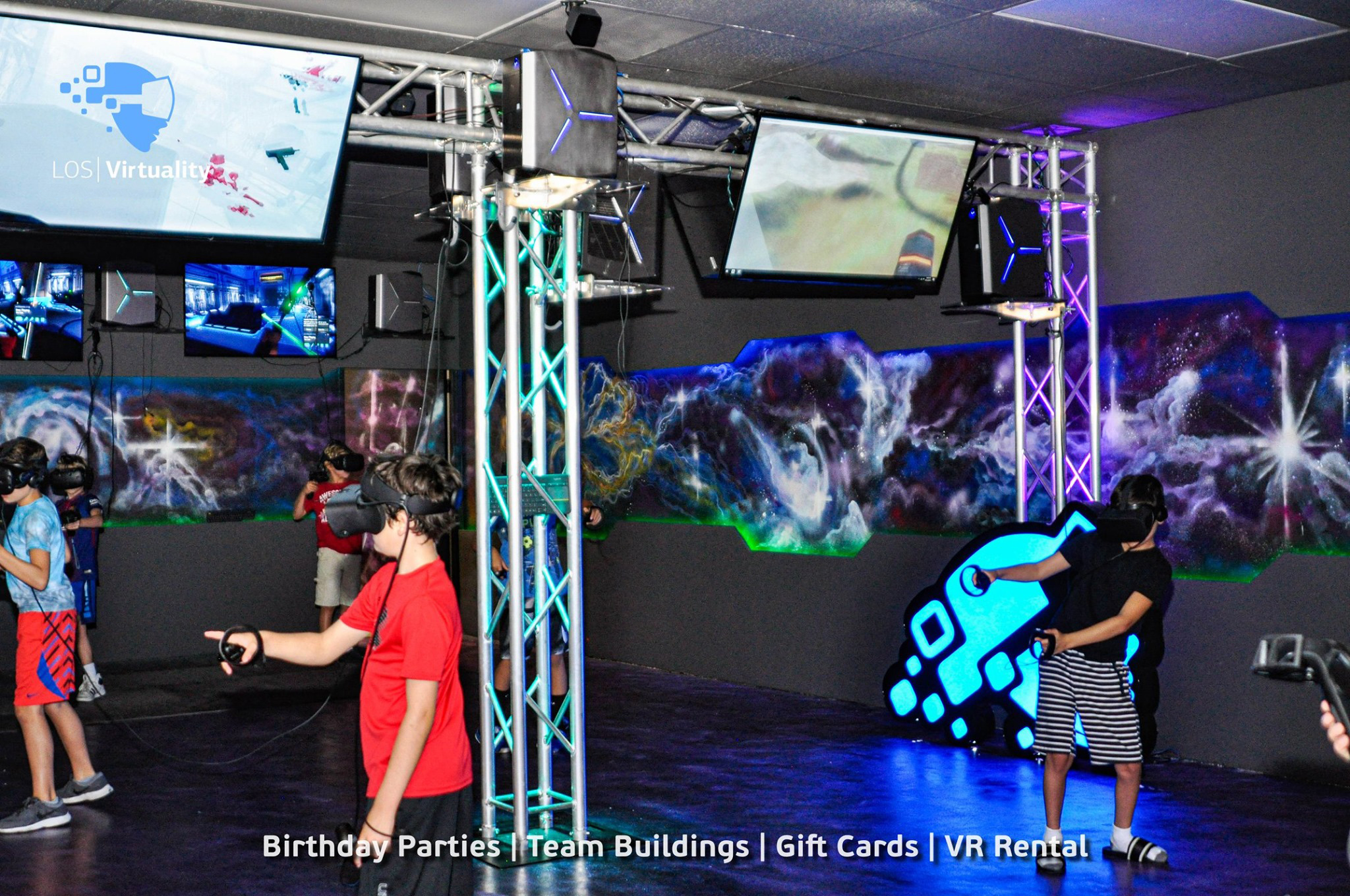 Birthday Party In Virtual Reality - VR Space - Image 1