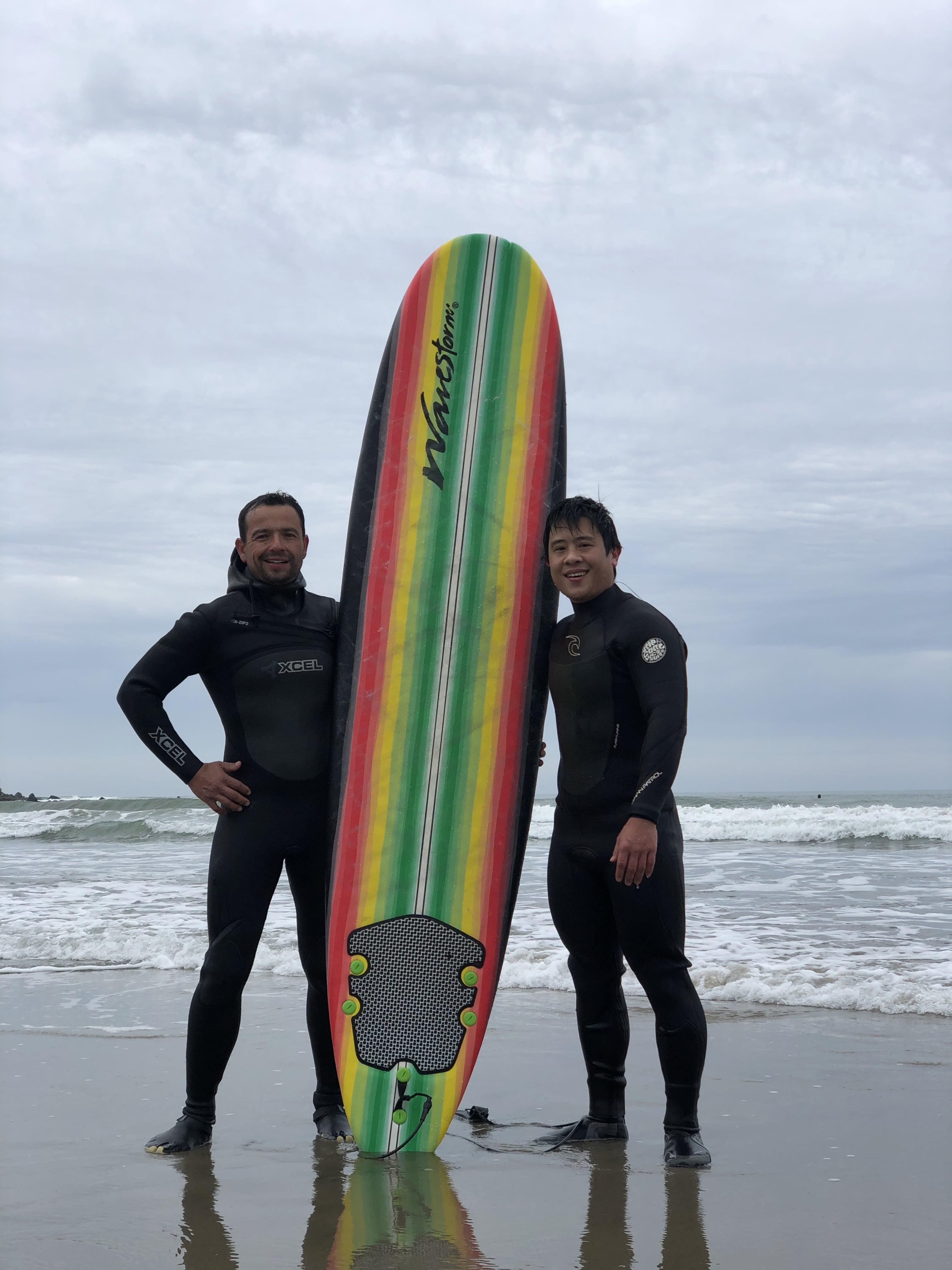 Surf Lesson- Private Solo Lesson 1.5 hs- Venice Beach - Image 1