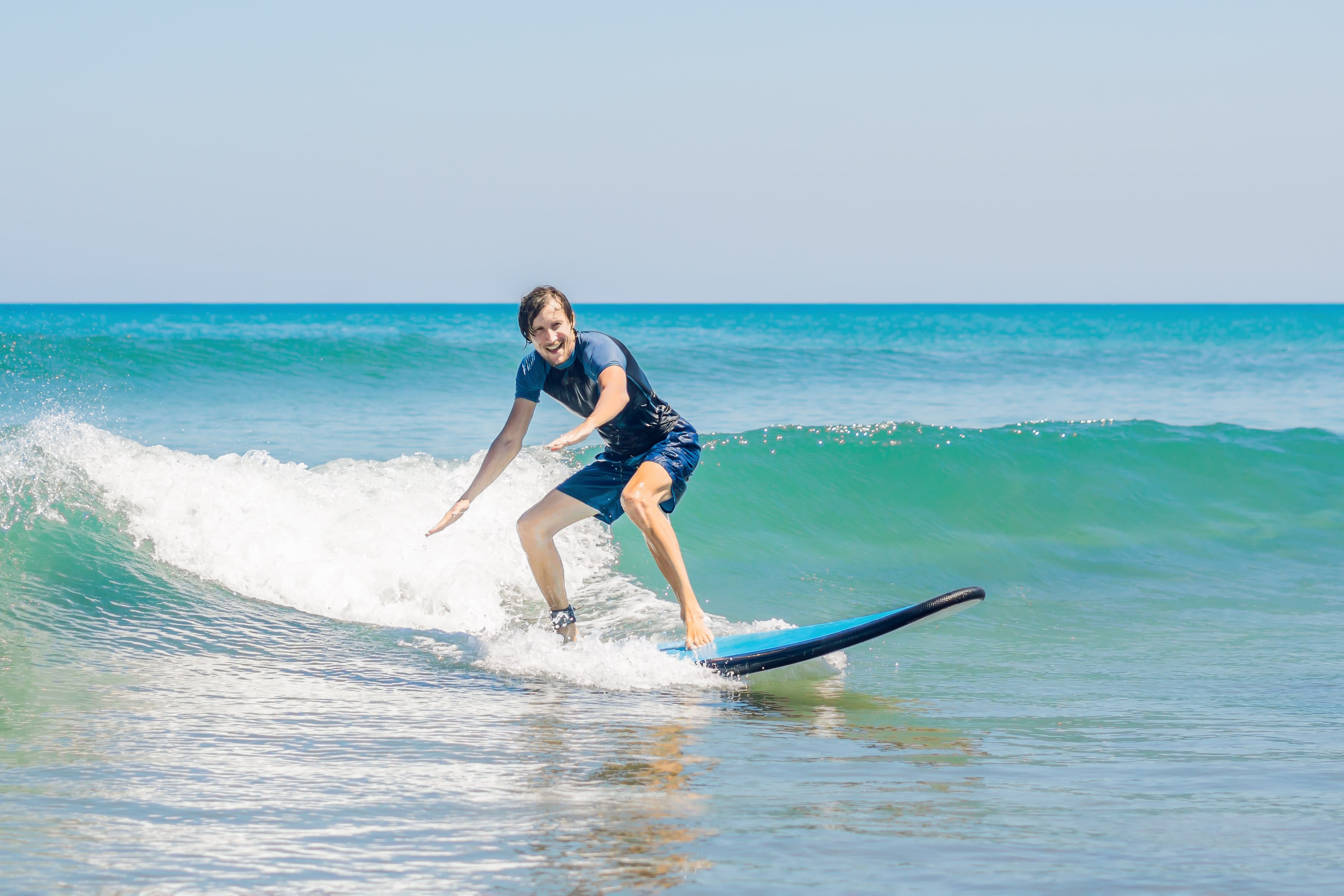 Surf Lesson- Private Solo Surf Camp 4 hours- Venice Beach - Image 1