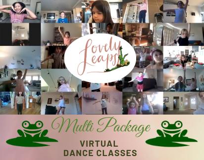 Virtual Dance Classes - Multi (10 classes) - Image 1