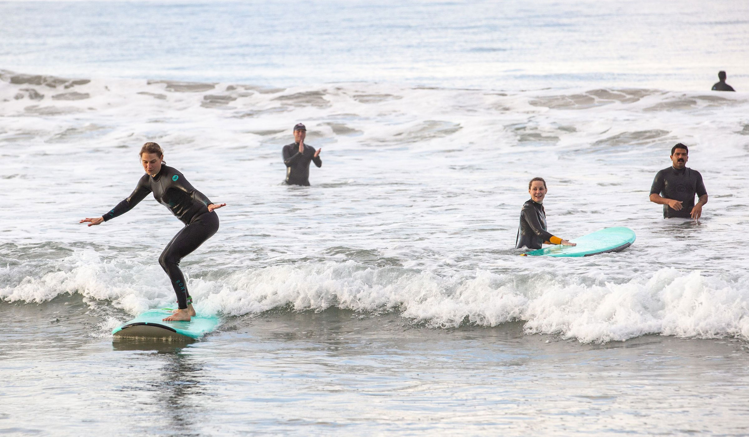 Surf Lesson - Private Solo Surf Camp 4 hours - Venice Beach - Image 1