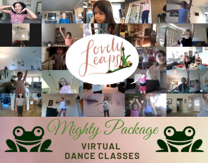 Virtual Dance Classes - Mighty (25 classes)